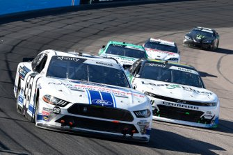 Chase Briscoe, Stewart-Haas Racing, Ford Mustang Ford Performance Racing School, Justin Haley, Kaulig Racing, Chevrolet Camaro LeafFilter Gutter Protection