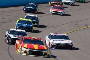 Denny Hamlin, Joe Gibbs Racing, Toyota Camry FedEx Freight Kyle Larson, Chip Ganassi Racing, Chevrolet Camaro McDonald's