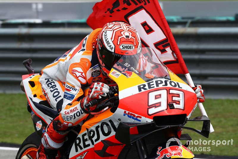 Secondo classificato Marc Marquez, Repsol Honda Team