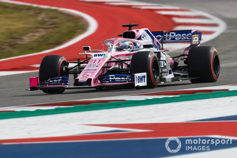 20º: Sergio Perez, Racing Point RP19