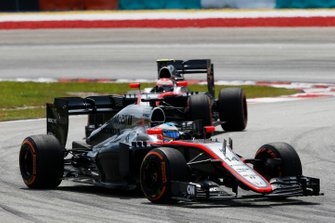 Fernando Alonso, McLaren, Jenson Button, McLaren