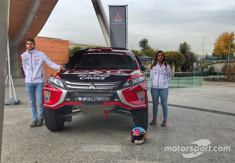Cristina Gutiérrez, Pablo Huete, Eclipse Cross DKR