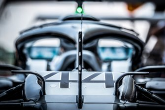 La Mercedes W10 de Lewis Hamilton