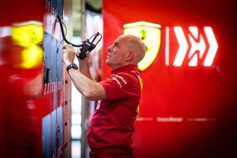 Jock Clear, ingénieur de course, Ferrari.