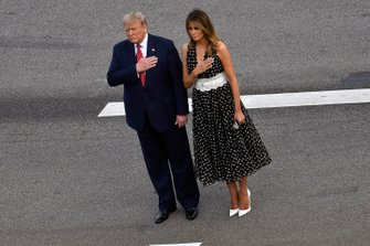 Donald J Trump, The President of The United States and Grand Marshall for the Daytona 500