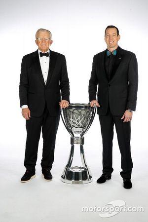 NASCAR Cup-Champion 2019: Kyle Busch mit Coach Joe Gibbs