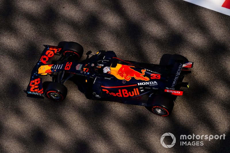 2: Max Verstappen, Red Bull RB15, 1'35.139