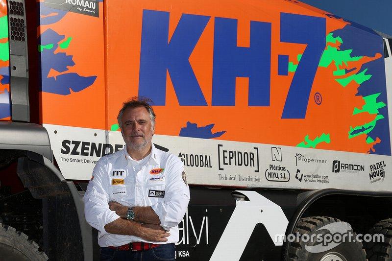 Xavi Domènech, KH-7 Epsilon Team Rally