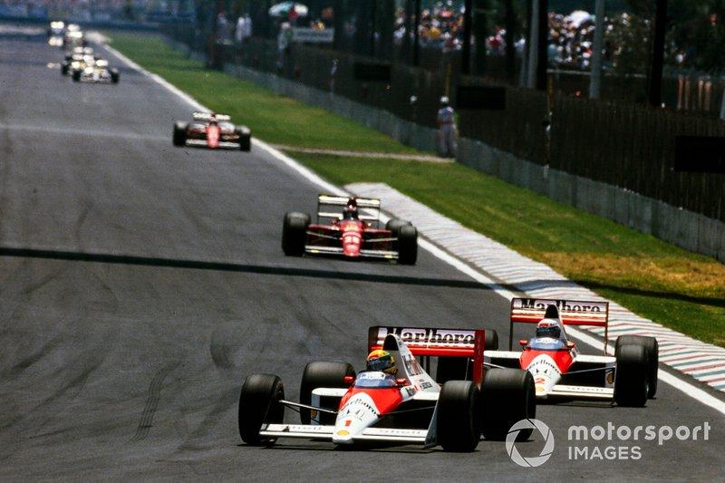 Ayrton Senna - McLaren MP4 / 5-Honda - GP de México 1989