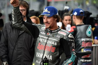 Second place Franco Morbidelli, Petronas Yamaha SRT