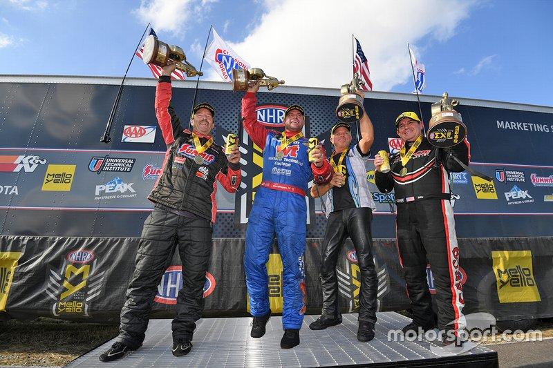 Race Winners Greg Anderson, Matt Hagan, Jerry Savoie, Billy Torrence