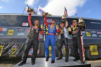 Race Winners Greg Anderson, Matt Hagan, Jerry Savoie, Billy Torrence