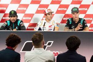 Franco Morbidelli, Petronas Yamaha SRT, Marc Marquez, Repsol Honda Team, Fabio Quartararo, Petronas Yamaha SRT
