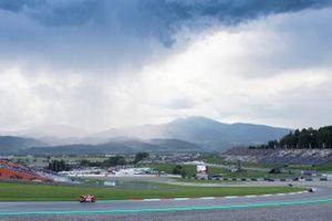 Dunkle Wolken über dem Red-Bull-Ring in Spielberg