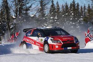 Sébastien Ogier and Julien Ingrassia, Citroen C4 WRC, Equipe de France FFSA