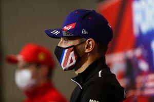 Esteban Ocon, Alpine F1 at the press conference