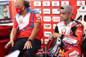 Jorge Martin, Pramac Racing, mit Daniele Romagnoli