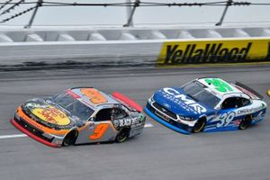 Noah Gragson, JR Motorsports, Chevrolet Camaro Bass Pros Shops/TrueTimber/BRCC and Ryan Sieg, RSS Racing, Ford Mustang CMR Construction and Roofing / A-Game