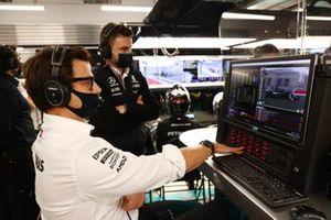 Toto Wolff, director del equipo y consejero delegado de Mercedes AMG
