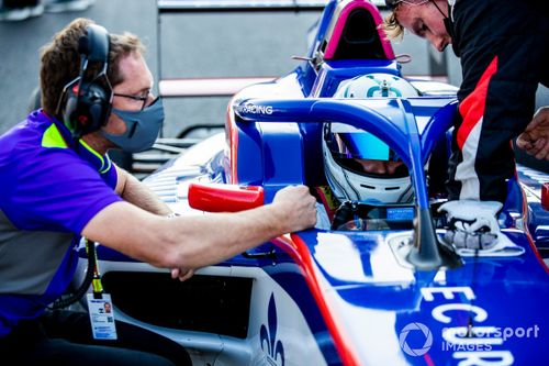 Podcast: Inside W Series with driver coaches Hughes and Kane