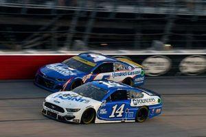 Chase Briscoe, Stewart-Haas Racing, Ford Mustang HighPointcom/Founders, Kyle Larson, Hendrick Motorsports, Chevrolet Camaro HendrickCars.com