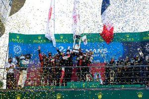 Hisatake Murata, #7 Toyota Gazoo Racing Toyota GR010 - Hybrid Hypercar, Mike Conway, Kamui Kobayashi, Jose Maria Lopez, #8 Toyota Gazoo Racing Toyota GR010 - Hybrid Hypercar, Sébastien Buemi, Kazuki Nakajima, Brendon