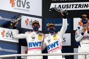 Podium: #22 Toksport WRT Mercedes-AMG GT3 Evo: Maro Engel, Luca Stolz