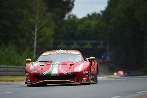 #52 AF Corse Ferrari 488 GTE EVO LMGTE Pro, Daniel Serra, Miguel Molina