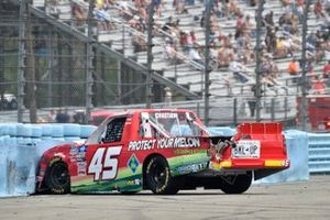 Chad Chastain, Niece Motorsports, Chevrolet Silverado Protect Your Melon Buckle Up