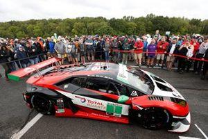 Fans enjoy walking the pre-race grid and viewing the #1: Paul Miller Racing Lamborghini Huracan GT3, GTD: Madison Snow, Bryan Sellers