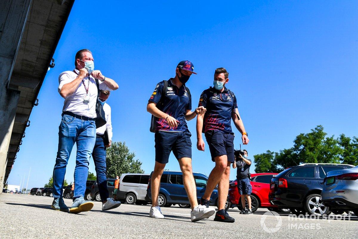 Jos Verstappen y Max Verstappen, Red Bull Racing