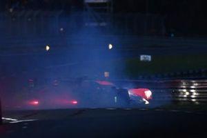 #26 G-Drive Racing Aurus 01 - Gibson LMP2, Roman Rusinov, Franco Colapinto, Nyck de Vries, #1 Richard Mille Racing Team Oreca 07 - Gibson LMP2, Tatiana Calderon, Sophia Floersch, Beitske Visser, crash