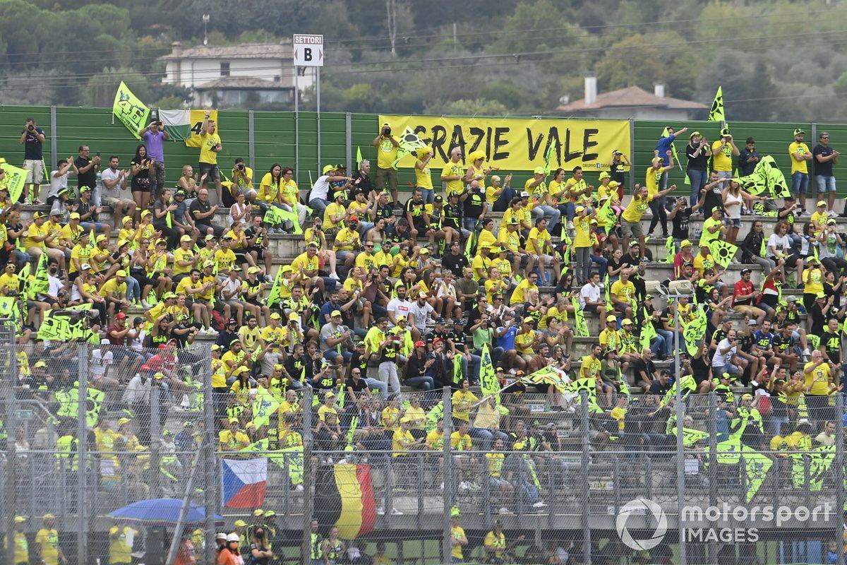 Tifosi alla gara del GP di San Marino