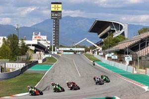 Lucas Mahias, Kawasaki Puccetti Racing, Loris Cresson, TPR Team Pedercini Racing, Samuele Cavalieri, TPR Team Pedercini Racing