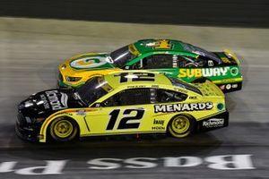 Ryan Blaney, Team Penske, Ford Mustang Menards/Richmond, Kevin Harvick, Stewart-Haas Racing, Ford Mustang Subway Delivery