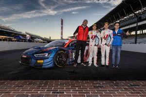 #25 Audi Sport Team Sainteloc Audi R8 LMS GT3 GT3: Christopher Haase, Patric Niederhauser, Chris Reinke, Sebastien Chétail