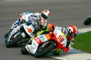Marco Simoncelli, Metis Gilera, Hiroshi Aoyama, Scot Racing