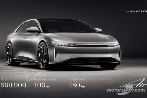 Lucid Air with 406-mile range is priced to take down Tesla Model S