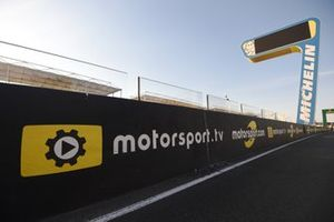 Logo de Motorsport TV en Le Mans