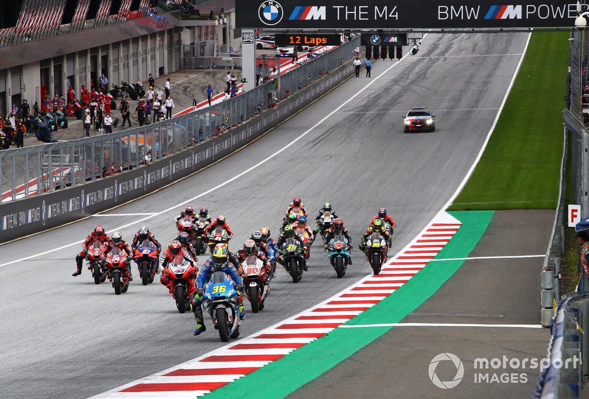 Joan Mir, Team Suzuki MotoGP leads start