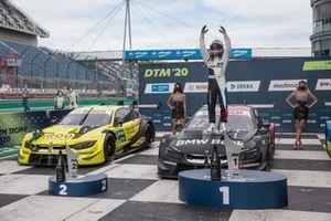 Podium: Race winner Lucas Auer, BMW Team RMG