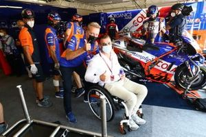 Herver Hervé Poncharal, Red Bull KTM Tech 3, Pit Beirer, Head of KTM Sport