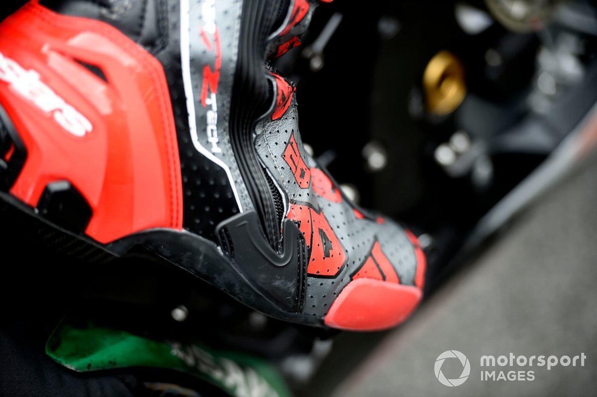 Fabio Quartararo, Petronas Yamaha SRT bota