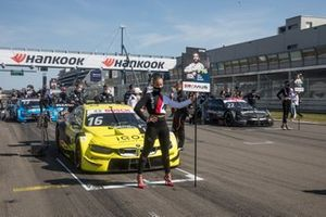 Grid girl of Timo Glock, BMW Team RMG