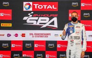 Le poleman #88 Mercedes-AMG Team AKKA ASP Mercedes-AMG GT3: Raffaele Marciello