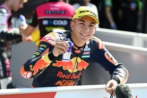 Pole winner Raul Fernandez, Red Bull KTM Ajo
