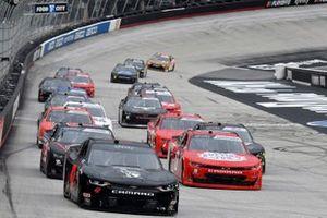 Kyle Weatherman, Mike Harmon Racing, Chevrolet Camaro Honor And Sacrifice, Jeffrey Earnhardt, JD Motorsports, Chevrolet Camaro TeamJDMotorsports.com