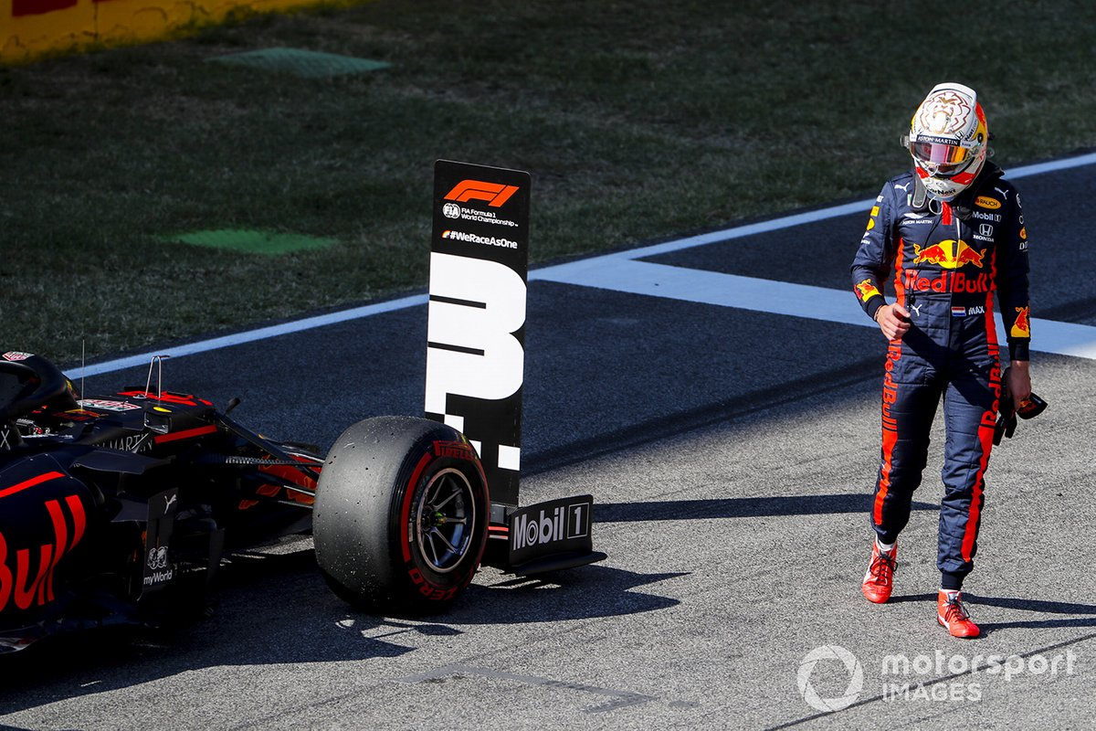 Tercero Max Verstappen, Red Bull Racing