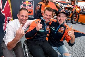 Pit Beirer con Jeffrey Herlings, Red Bull KTM Factory Racing