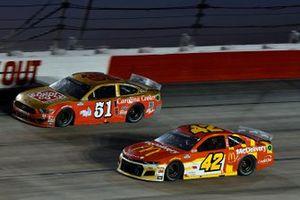 Matt Kenseth, Chip Ganassi Racing, Chevrolet Camaro McDelivery, Joey Gase, Petty Ware Racing, Ford Mustang